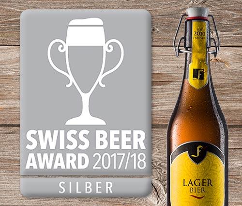 Swiss Beeraward 2017/18