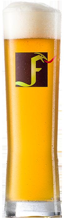 Lager Bier hell Bierglas