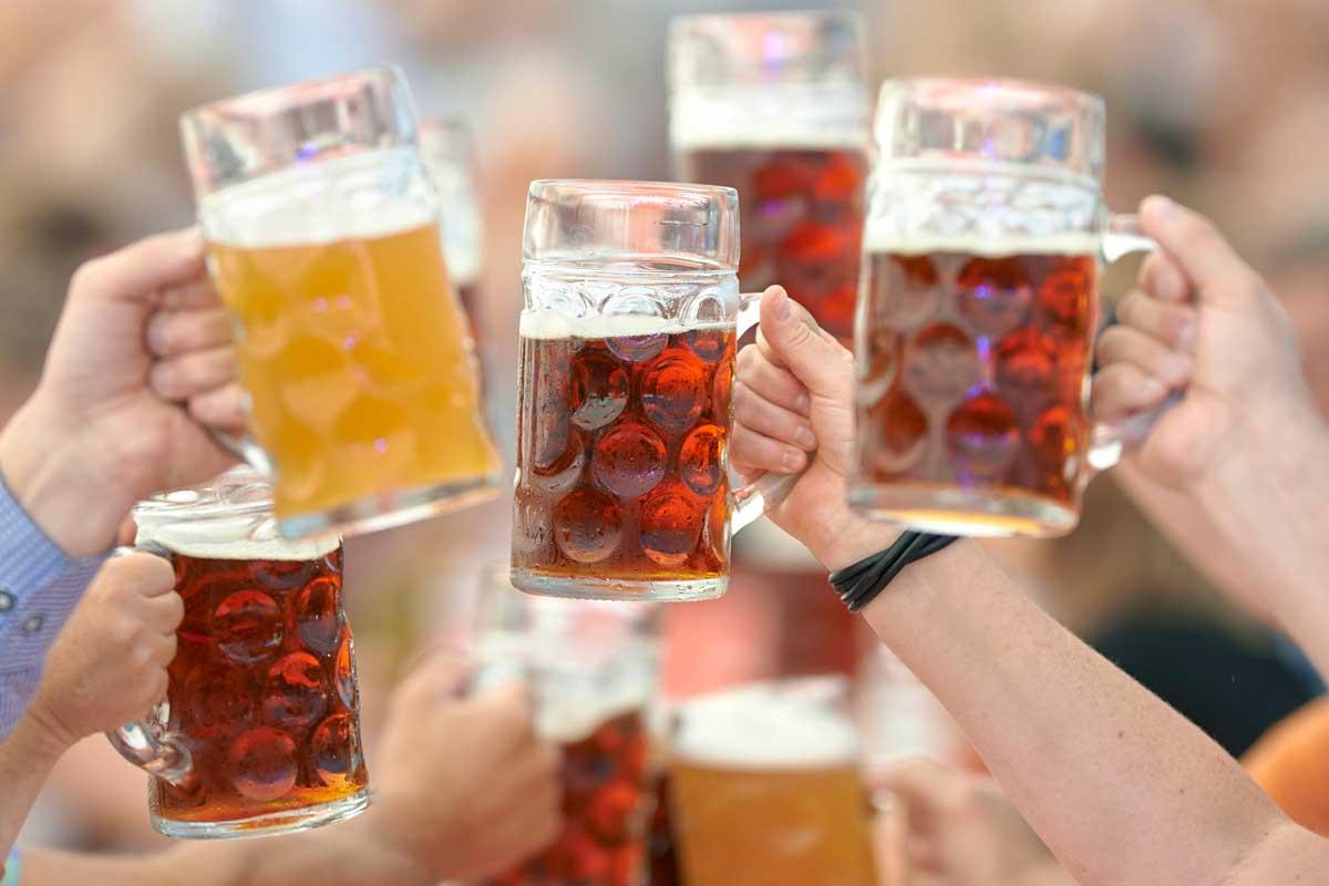 Ozapt is Oktoberfest Bier Freihof Bier